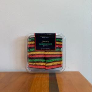Cookie Crush Rainbow cake bites 10 oz