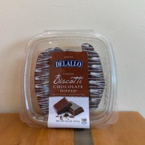 Delallo Chocolate Almond Biscotti