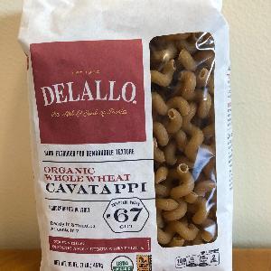 DeLallo Org. WW Cavatappi #67