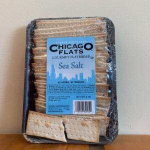 Chicago Flats Gourmet Flatbread Sea Salt