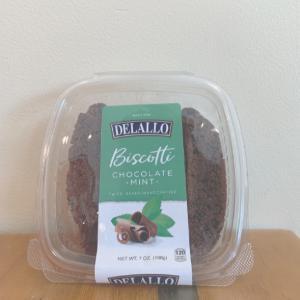 Delallo Chocolate Mint Biscotti