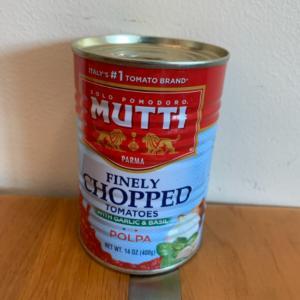 Mutti Chopped Tomatoes 14oz