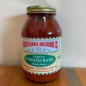 Pennsylvania Macaroni Co. Tomato Basil Pasta Sauce