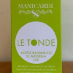 Manicardi Balsamic Le Tonde Vinegar 8.5oz.