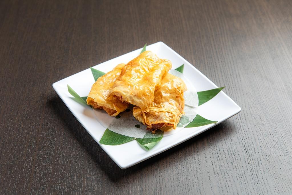 Fried Tofu Skin with Shrimp 鮮蝦腐皮券